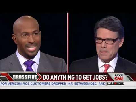 Texas Gov. Rick Perry on CNN's Crossfire
