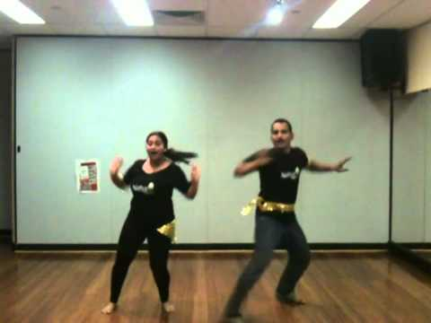 Natya Bollywood - 4th online workout  Gal Mitthi Mitthi Bol