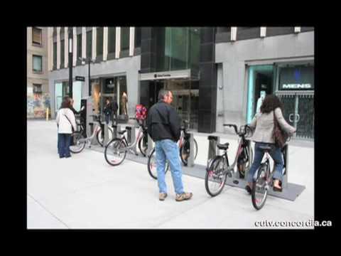 CUTV News of March 19 2010 BIXI Bikes