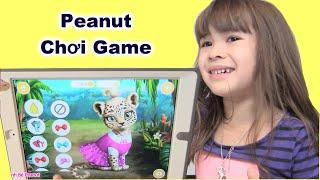 Peanut Chơi Game Trang Điểm Thú, Game Bác Sĩ, Game Noel - [Kênh Bé Peanut] ĐỒ CHƠI MỸ