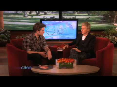 Robert Pattinson Interview on Ellen (2009-11-20) - Part 2 Video