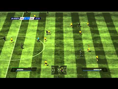 FIFA 11 - Gameplay - Real vs. Arsenal