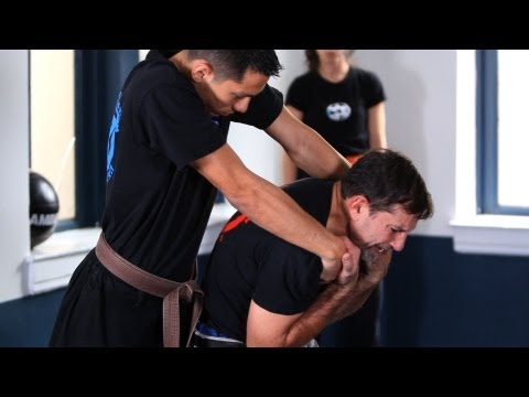 How to Defend against a Rear Choke | Krav Maga Defense Image 1