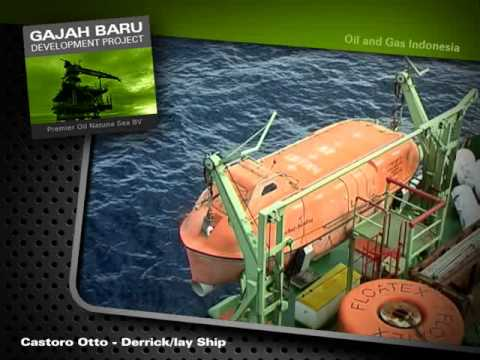 GAJAH BARU DEVELOPMENT PROJECT - Castoro Otto Derrick/Lay Ship