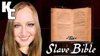 Video: In 1807, 'The Slave Bible' published by Christian Slave masters was used to control obedient Black Slaves - Godless Engineer