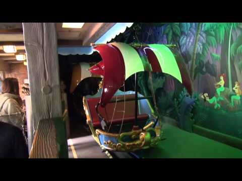 Peter Pan's Flight in HD at Disneyland