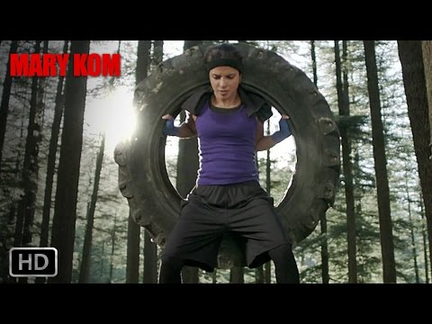 Training sessions in the nature - Mary Kom | Priyanka Chopra | In Cinemas NOW