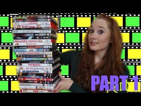Huge DVD Haul! (Part 1, October 2015)   Amy McLean