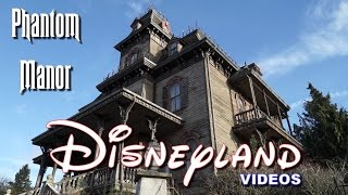 Attraction Phantom Manor (lowlight/complete) + Boot Hill - Disneyland Paris HD