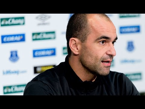 Roberto Martinez Pre-Aston Villa Press Conference