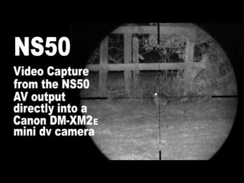 Night vision rabbit shoot with the NiteSite NS50
