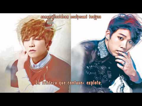 U-KISS (Soohyun&Hoon) - More painful than pain (Audio) [Sub español+Rom]