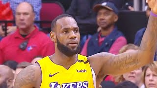 LeBron James Shocking MVP Chants From Houston Crowd After Destroying Rockets! Lakers vs Rockets