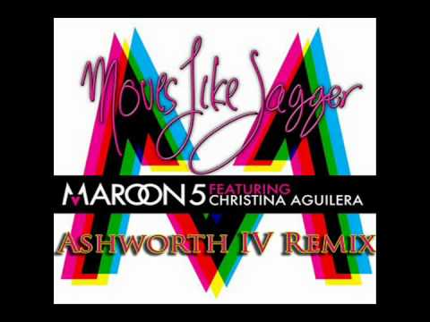 Maroon 5 Ft. Christina Aguilera -- Moves Like Jagger (ashworth Iv Remix) video