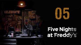 Let's Play - Five Nights At Freddy's - FNAF 1 - 05 (Nochmal Nacht 6 und kleine Entdeckungen)