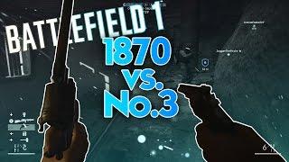 Best assault secondary? M1870 vs. No.3 Revolver!