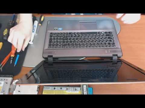 Disassembly Lenovo IdeaPad Y570 20091