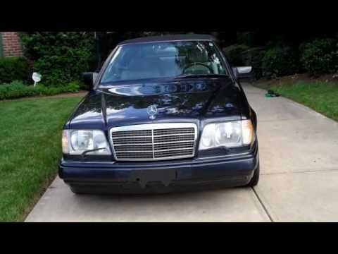 1995 e320 cabriolet for sale youtube for 1995 mercedes benz e320 convertible for sale