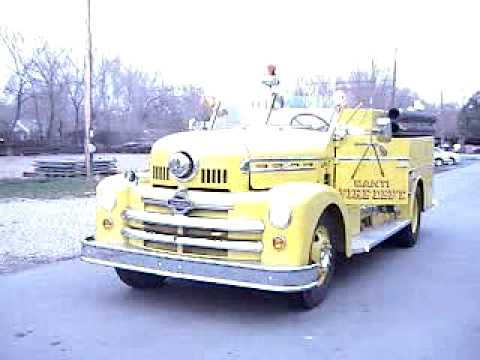 Classic 1957 Seagrave Fire Truck Video