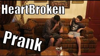 HEARTBROKEN PRANK ON LITTLE BROTHER!!