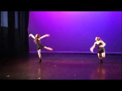 Leeza Lakhter and Sofia Reidbord; Dwight School Dance show