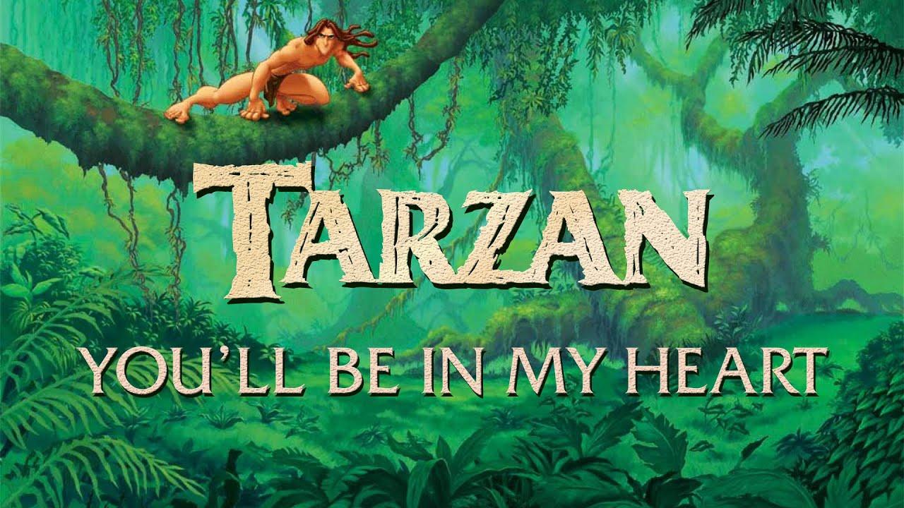 Tarzan Songs Phil Collins Tarzan Phil Collins You 39 ll