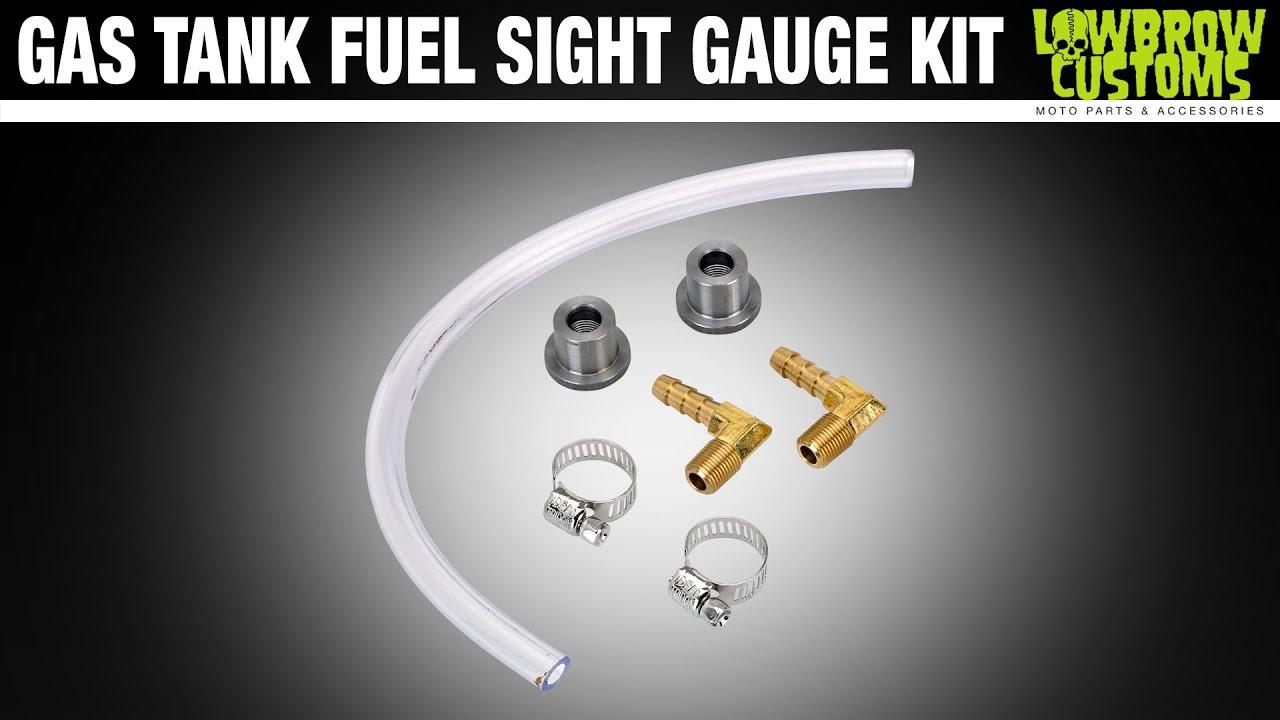 Sight Gauge Tube Gas Tank Fuel Sight Gauge