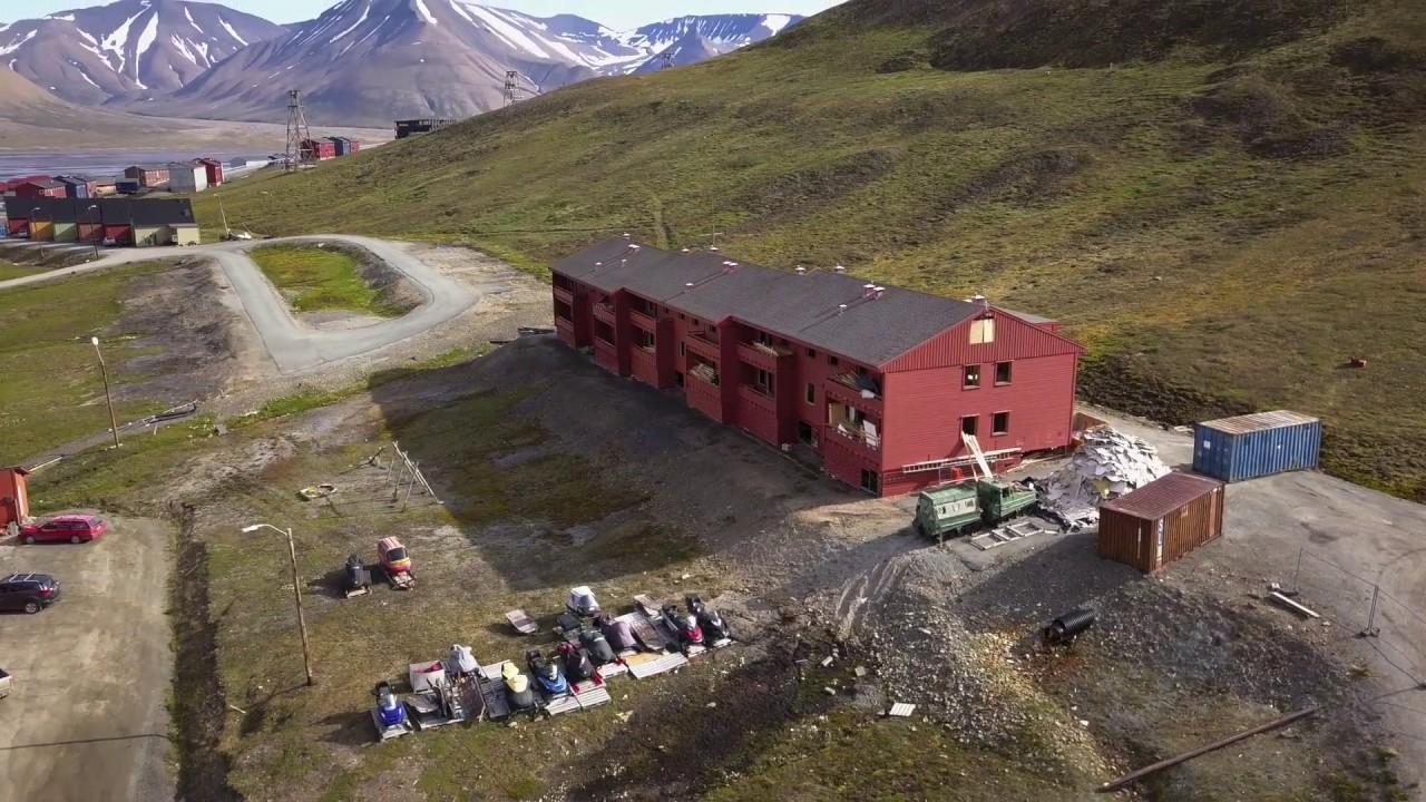 Longyearbyens historie: Russerboligen