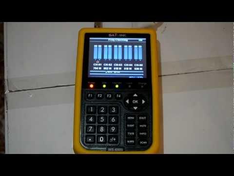 Medidor de campo Satlink WS-6909 tdt sat