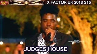 "Dalton Harris AMAZING take on Beyonce's ""Listen"" The Boys | Judges House X Factor UK 2018"