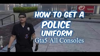 "GTA 5 Online -  ""How To Get Police Outfit And Trashman Outfit"" 2017 100% pc/xbox/ps4"