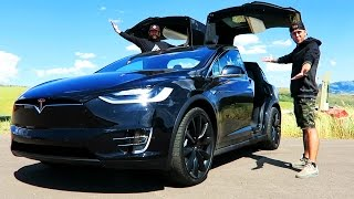 BIGGEST GIVEAWAY EVER!! BRAND NEW TESLA MODEL X