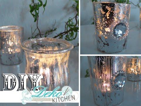 11:21 DIY: Windlichter Im Deko Bauernsilber Look Einfach Selbst Machen | Deko  Kitchen