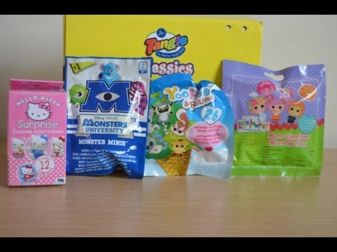 Monsters University YooHoo And Friends Lalaloopsy Sanrio Hello Kittty Blind Bags Surprise Packs (HD)