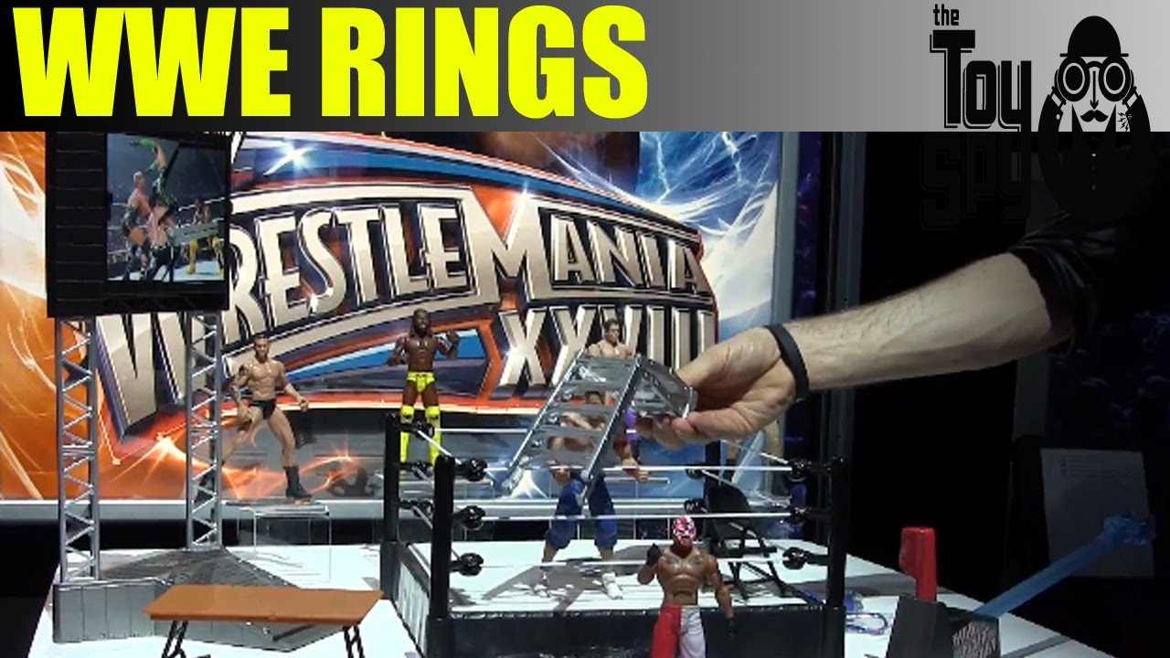 Toys R Us Wwe Rings : Wwe rings new york toy fair the spy youtube