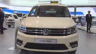 Volkswagen Caddy Maxi BlueMotion TGI Taxi (2017) Exterior and Interior in 3D
