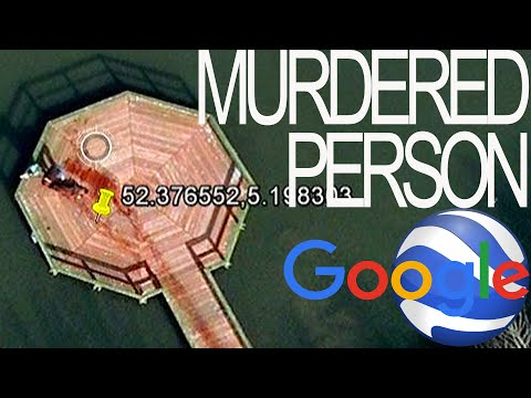 Murdered person on Google Earth! NETHERLANDS  52.376552,5.198303