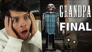 HE GANADO, ESCAPÉ DEL ESPOSO DE GRANNY !! FINAL - Grandpa (Horror Game)