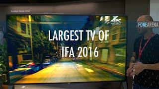 Largest TV of IFA 2016