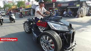 QuadBull Honda CBR1000RR custom 4 wheels in Vietnam