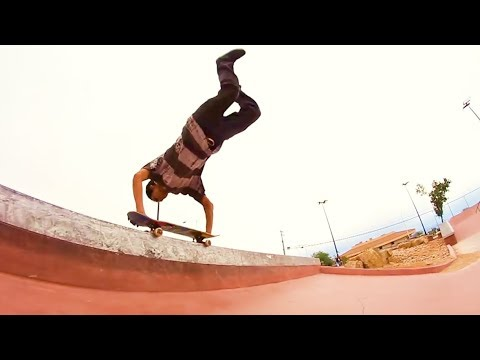 Most DANGEROUS Skateboard Grind!