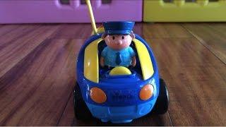 Xe ôtô cảnh sát đồ chơi điều khiển từ xa | Vui Cùng Chie | Cartoon R/C Police Car Radio Control Toy