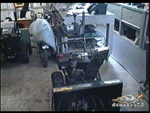 MTD Snowblower Shift Lever Repair