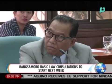 NewsLife: Bangsamoro basic law consultations to start next week || Sept 16, 2014