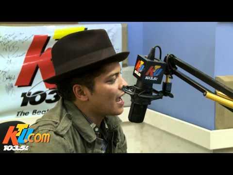 Bruno Mars KTU Interview