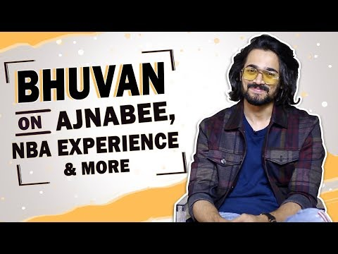 Download  Bhuvan Bam Talks About His NBA Experience, Ajnabee & More Gratis, download lagu terbaru