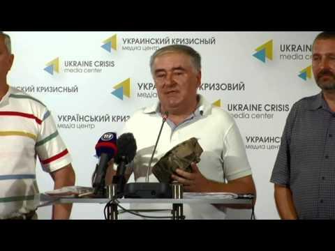 Provision In Ato. Ukraine Crisis Media Center, 21st Of August 2014 video