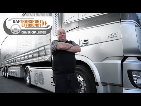 DAF Transport Efficiency Driver Challenge - Meet the Finalists: Mark Steward