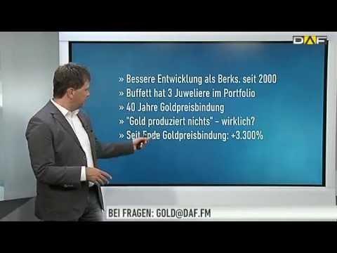 Goldexperte Bußler: Deshalb hasst Warren Buffett Gold