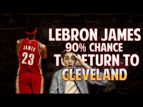 LEBRON JAMES 90% CHANCE SIGNING WITH THE CLEVELAND CAVALIERS | BREAKING NEWS | NBA FREE AGENCY